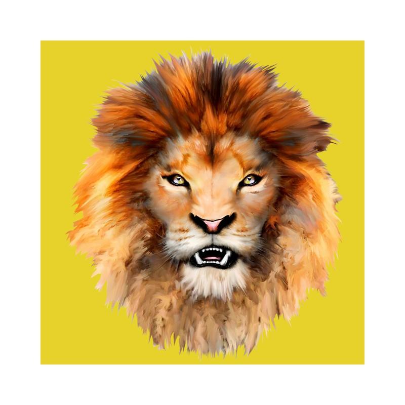 yellow lion logo - photo #45