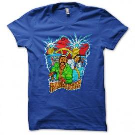 El Hermanos de Steiner camisa azul Frankensteiner