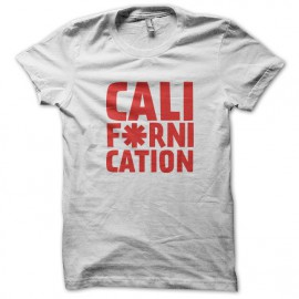 Tee Shirt Californication - Red Hot Choli Pepper Blanc