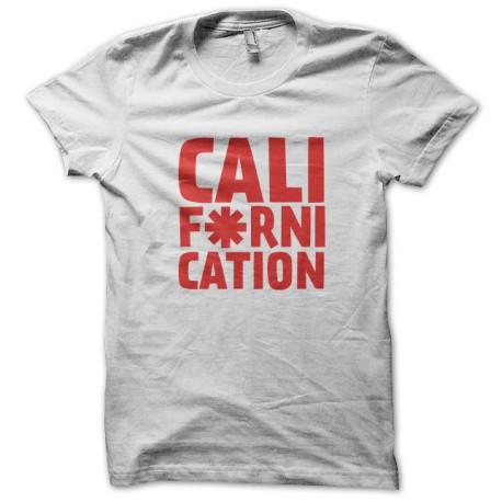 Tee Shirts Californication - Red Hot Pepper Blanco Choli