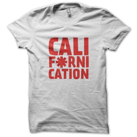 Tee Shirt Californication - Red Hot Choli Pepper Blanc