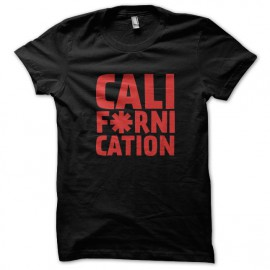 Tee Shirts Californication - Red Hot Pepper Choli NEGRO