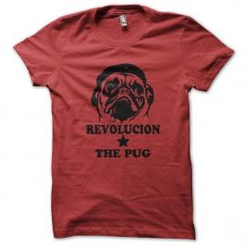 Guevara t-shirt pug red