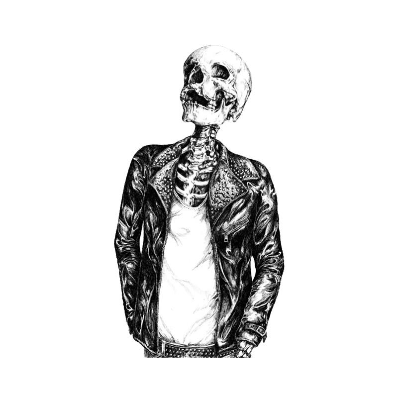 Февраля, крутые рисунки для пацанов карандашом скелеты