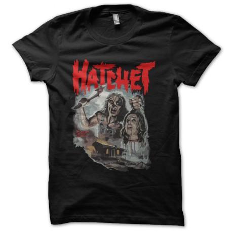 black tee shirt hatchet