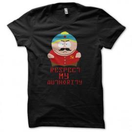 shirt eric cartman respect my authority black Communist Version