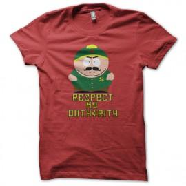 shirt eric cartman respect my authority Communist Red Version