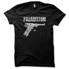 Tee Shirt Parabellum 9mm Luger Schultz BLACK