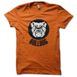 tee shirt Bulldogs orange