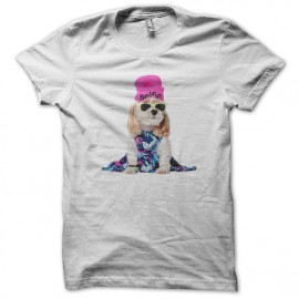 camisa de American Outfitters beagle blanco