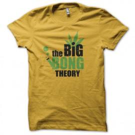 tee shirt the big bong theory jaune
