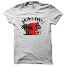 tee shirt malibu blanc