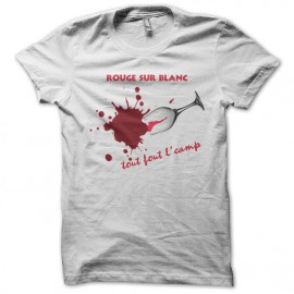 Tee Shirt Wines red and white, everything goes