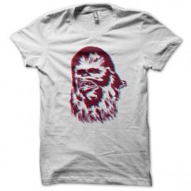 Tee Shirt SW Chewie Pop Blanc