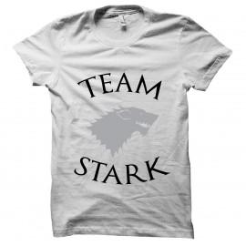 tee shirtTeam Stark blanc