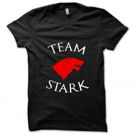 tee shirt Team Stark noir