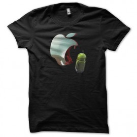 shirt eating apple android black