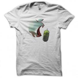 camisa blanca come la manzana androide