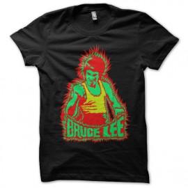 Bruce Lee negro camiseta