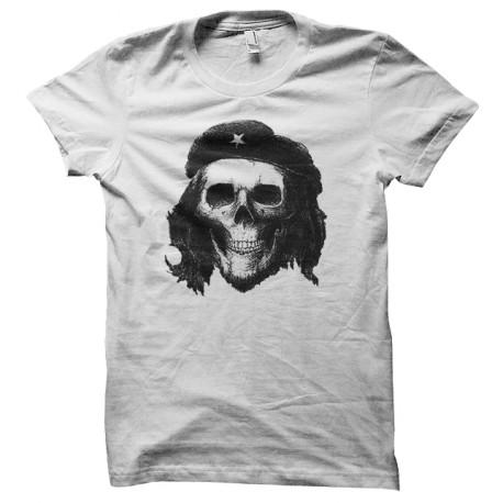 Che Guevara camiseta cráneo blanco