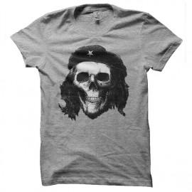 Che Guevara t-shirt gray skull