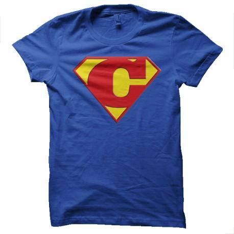 Superman Symbol Long-Sleeve Shirt Royal Blue Blue