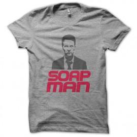 camisa de jabón hombre gris