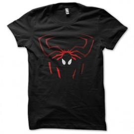 logotipo de la camisa del hombre araña efectos de sombra
