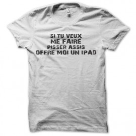 Camisa ipad parejas recipiente blanco
