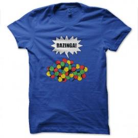 shirt bazinga royal blue gum