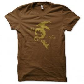 shirt brown smog fire