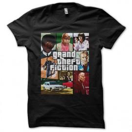 camisa de la pulpa negro versión de ficción de GTA