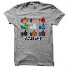 tee shirt Super Like