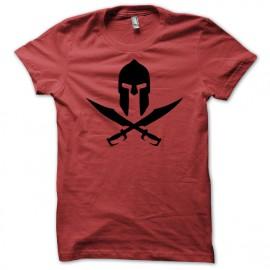 Spartan helmet pirate skull 300