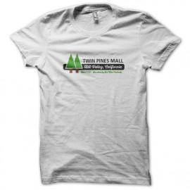 Tee Shirt BTTF Twin Pines Mall WHITE