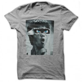 tee shirt bruce lee grey