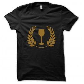 Tee shirt Alcool logo noir