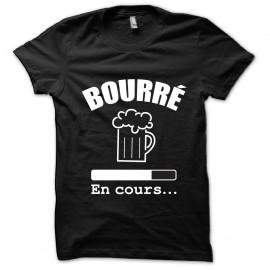 Tee shirt Bourré en cours noir