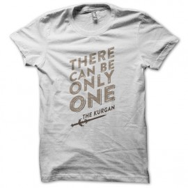 Quote White Tee Shirt Highlander