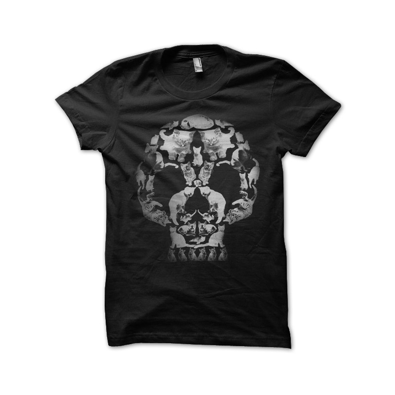 Black Cat Skull