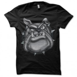 shirt black bulldog