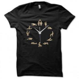 black t-shirt sex time