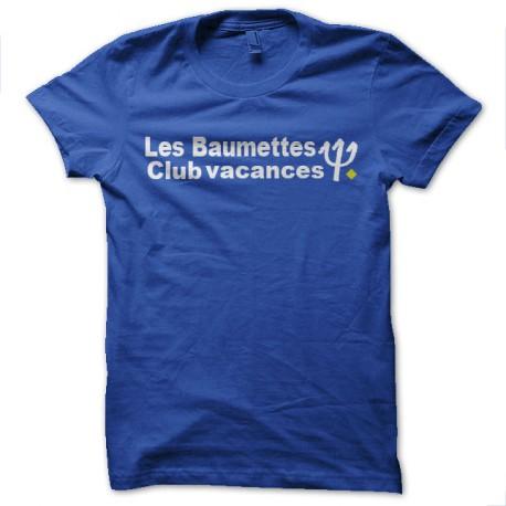 camisa de la prisión de Baumettes la parodia med club de vacaciones azul