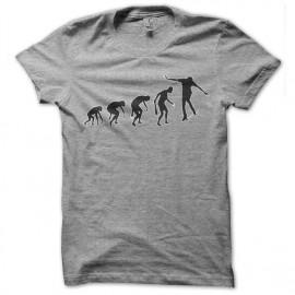 gray t-shirt skateboarder Evolution