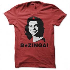 che camisa roja Bazinga