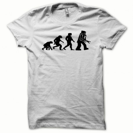 Tee shirt Lego Evolution noir/blanc