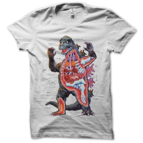anatomy white shirt godzilla