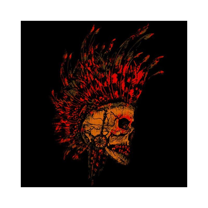 Black Skull T Shirt Design