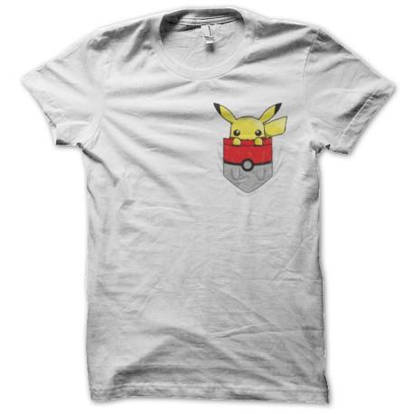 tee shirt pokemon pocket shirt blanc