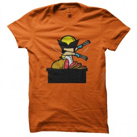 tee shirt job special wolverine orange
